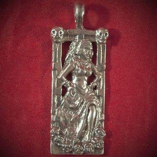 Hex Pomba Gira in Silver