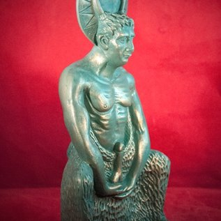 Hex Satyr Herne Statue