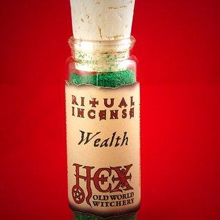Hex Wealth Ritual Incense