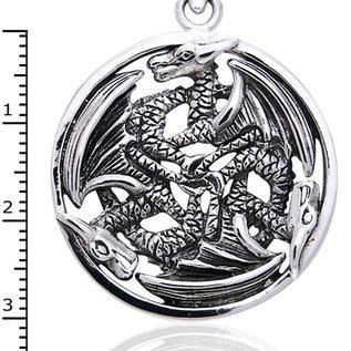 Hex 3 Dragons Pendant