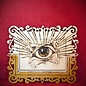 Hex All-Seeing Eye Plaque, Rectangle on Rectangle