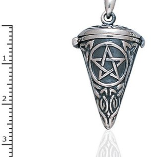 Hex Aroma Pentacle Pendant