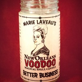 Hex Better Business - Marie Laveau's New Orleans Voodoo Spell Candle