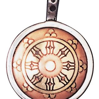 Hex Dharma Wheel Talisman for Perfection & Peace