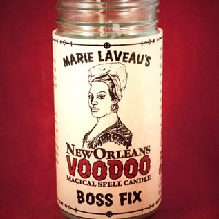 Hex Boss Fix - Marie Laveau's New Orleans Voodoo Spell Candle