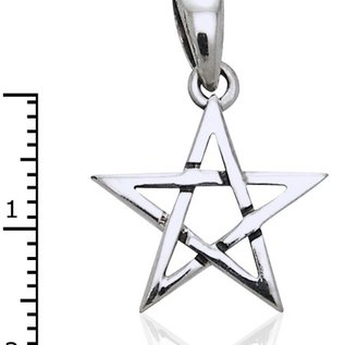 Hex Small Pentacle Pendant