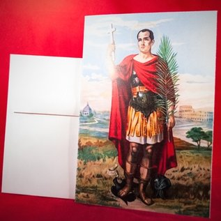 Hex Greeting Card - St. Expedite