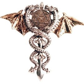 Hex Sacred Dragon Amulet Pendant: Physical & Psychic Protection