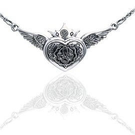 Hex Heart of the Magdalene Necklace