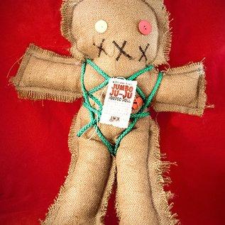 Hex Mama Kyri's Jumbo Ju-Ju Burlap Voodoo Doll in Natural