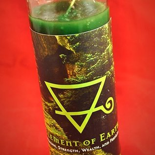 Hex Element of Earth 7-Day Candle