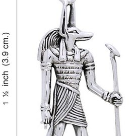 Hex Anubis Pendant