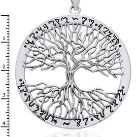 Hex Wiccan Tree of Life