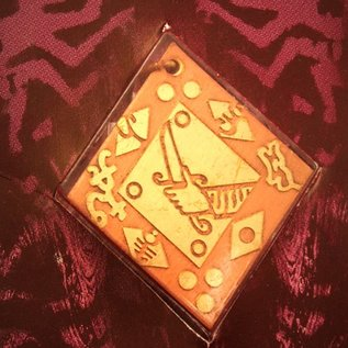 Hex Good Fortune Voodoo Charm Pendant