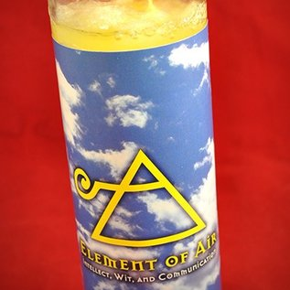 Hex Element of Air 7-Day Candle