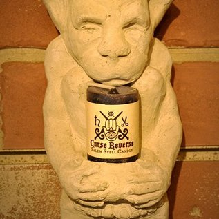 Hex Gargoyle Tea Lite Holder