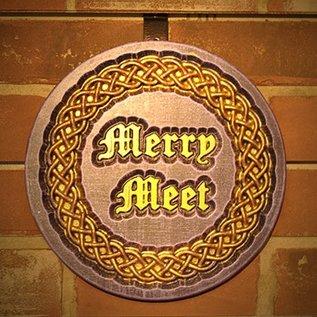 Hex Merry Meet Plaque