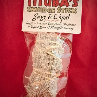 Hex Sage and Copal Smudge Stick