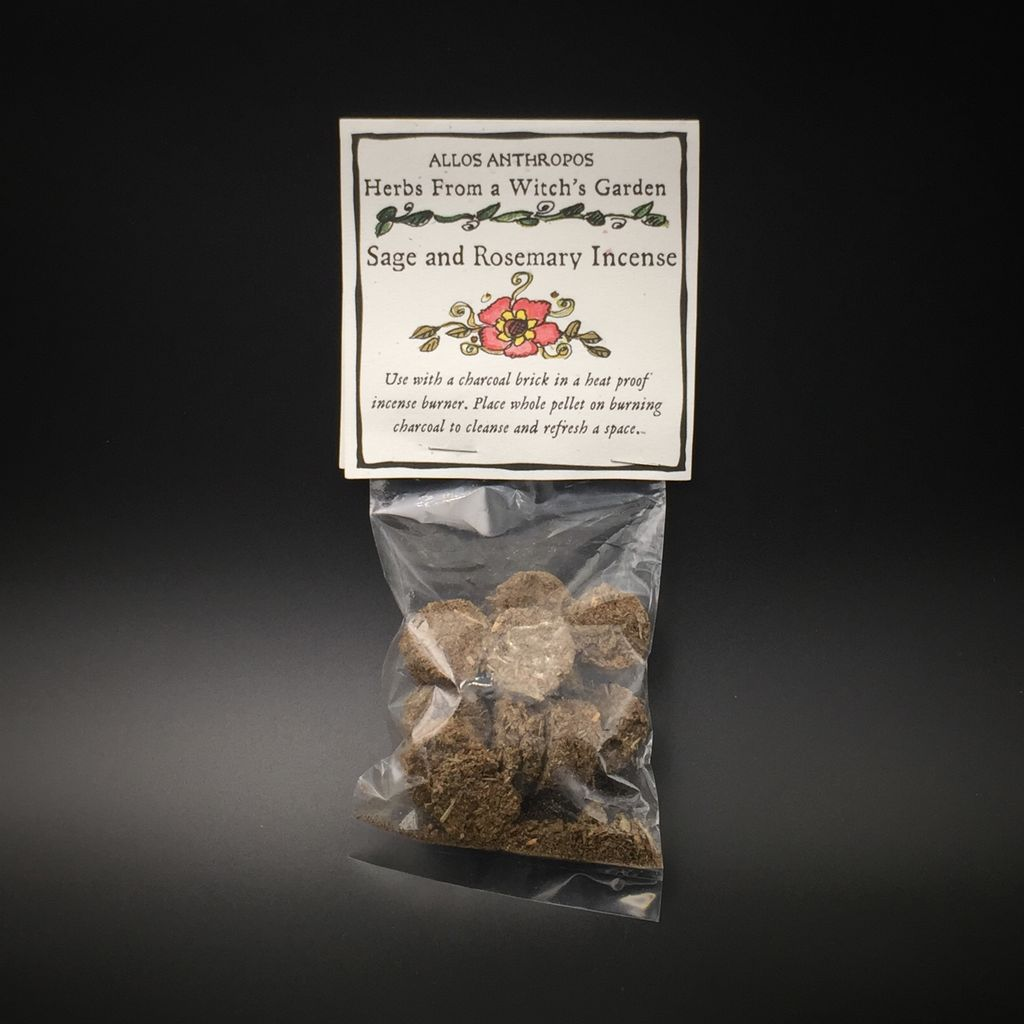 hex sage and rosemary incense herbs from a witch s garden hex