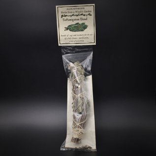 Hex Suffumigation Blend Smudge Stick  — Herbs from a Witch's Garden
