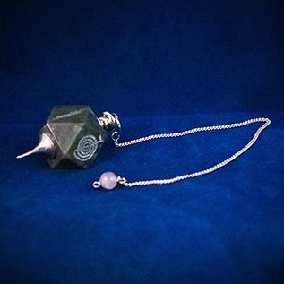 OMEN Octagonal Gem Pendulum
