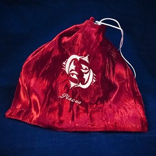 OMEN Pisces Red Tarot Bag