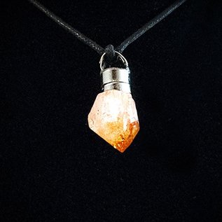 Firefly Firefly Pendant with Citrine Point
