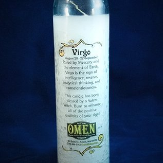 OMEN Virgo 7-Day Zodiac Candle