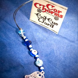 OMEN Car Charm - Evil Eye Ward