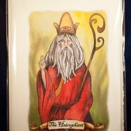The Heirophant - Tarot Greeting Card