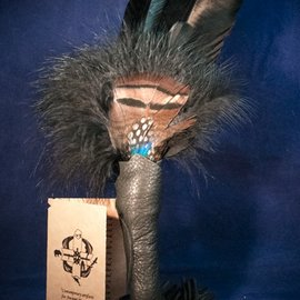 OMEN Double Feathered Smudging Wand