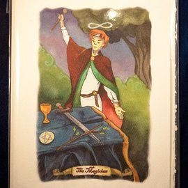 The Magician - Tarot Greeting Card