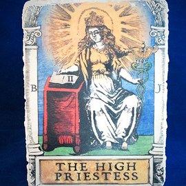The High Priestess Tarot Plaque