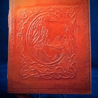 OMEN Small Raven Journal in Orange