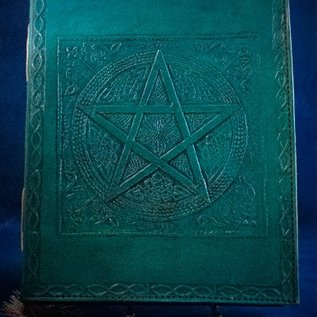 OMEN Small Pentacle in Square Journal in Blue