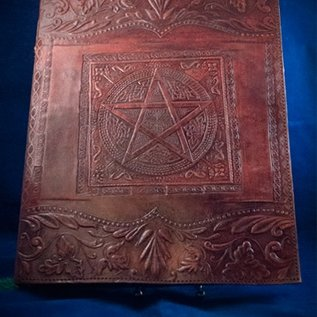 OMEN Small Pentacle in Square Journal in Brown
