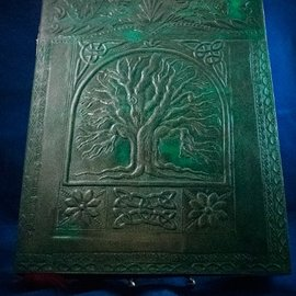 OMEN Small Tree of Life  Journal in Green