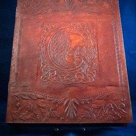OMEN Large Raven Journal in Brown