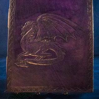 OMEN Small Dragon Journal in Purple