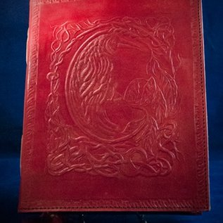 OMEN Small Raven Journal in Red