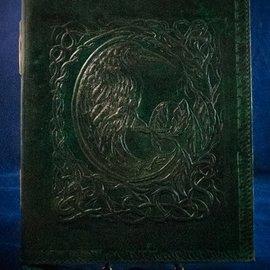 OMEN Small Raven Journal in Green