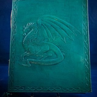 Large Dragon Journal in Blue