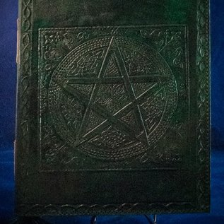 OMEN Small Pentacle in Square Journal in Green