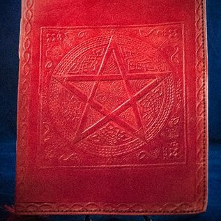 OMEN Small Pentacle in Square Journal in Red