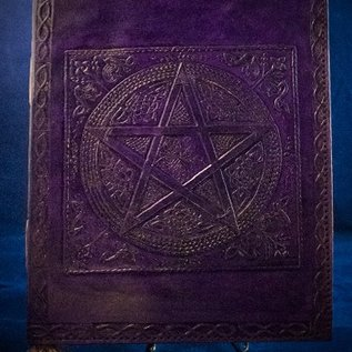 OMEN Small Pentacle in Square Journal in Purple