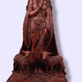 Brigid Statue by Maxine Miller