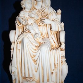 Madonna and Child statue