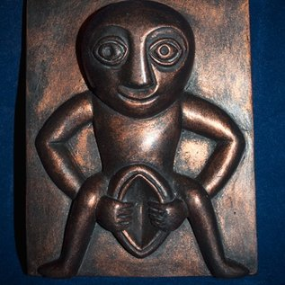 OMEN Sheela-Na-Gig Plaque