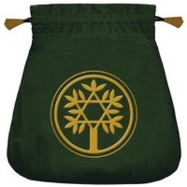 Llewellyn Worldwide Celtic Tree Velvet Tarot Bag