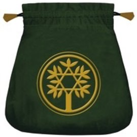 OMEN Celtic Tree Velvet Tarot Bag